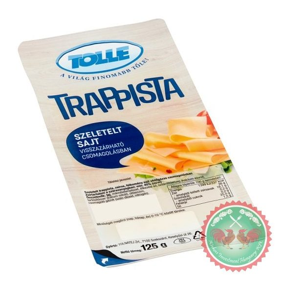 TOLLE  trappista 125 g