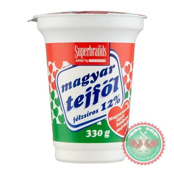 Magyar tejföl 12 % ,330 g