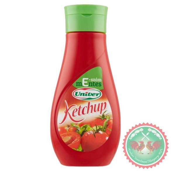 Univer ketchup flakonos /470  g/