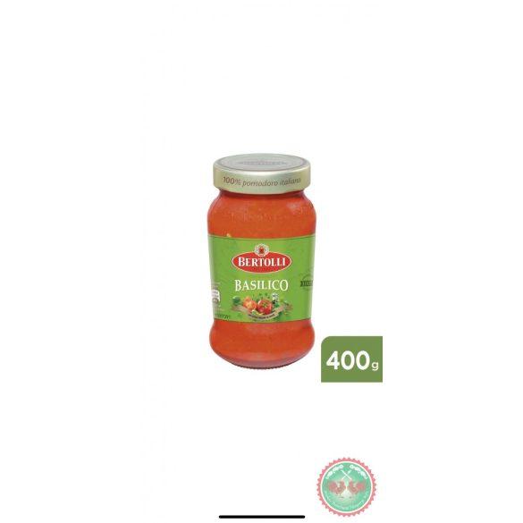 BERTOLLI üveges szósz Bazsalikom 185 g