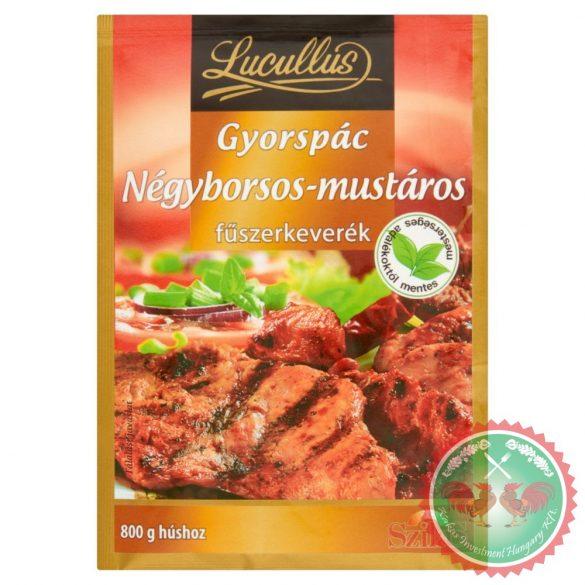 LUCULLUS négyborsos-mustáros gyorspác 37 g