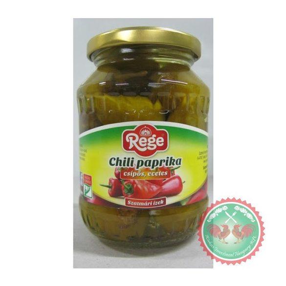 REGE Chili paprika csípős, ecetes XXL 330 g