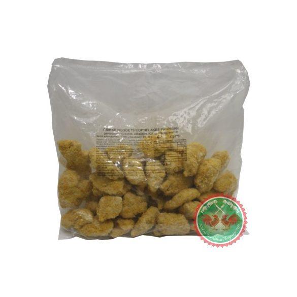 Panírozott prémium csirke nuggets cornflakes (Cookin'5, 25g+/db)