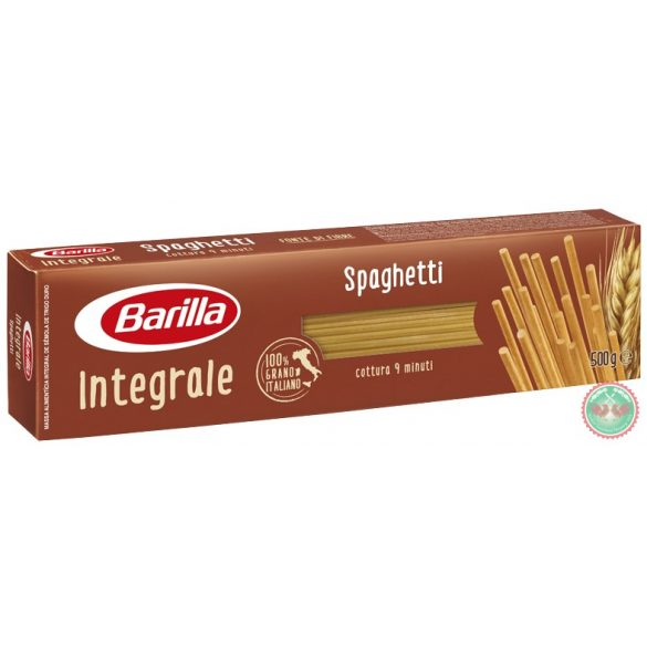 Tészta Barilla spaghetti 20-500gr integrale