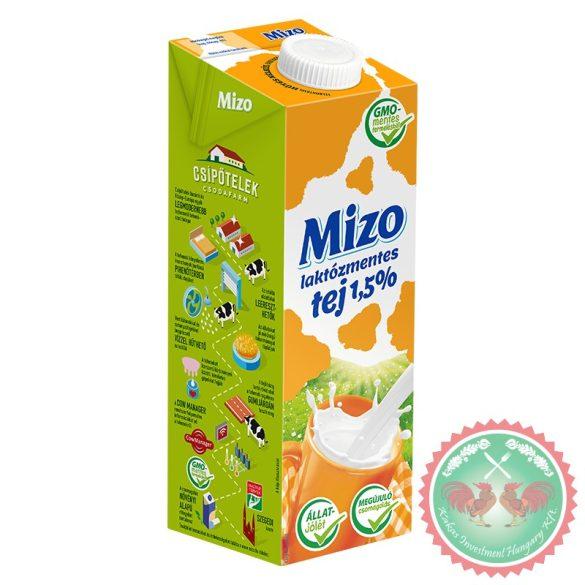 MIZO Laktózmentes UHT tej 1.5% 1L