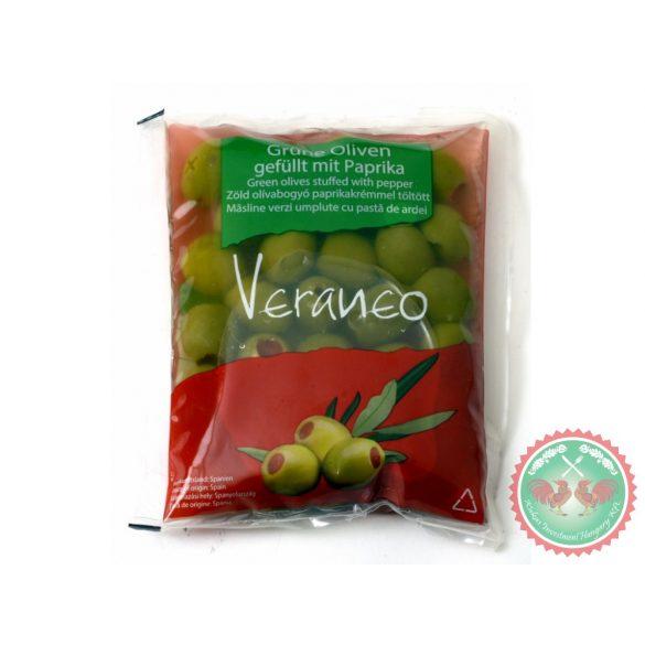 Veraneo zöldpaprikával töltött olivabogyó 180g