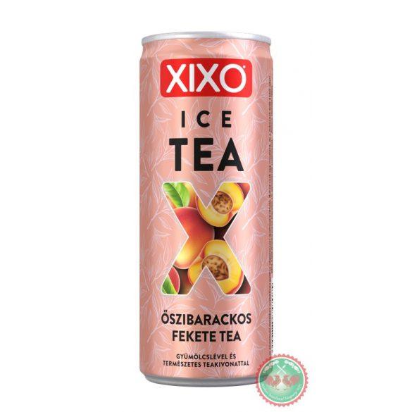 0,25 l Can XIXO Ice Tea Barack