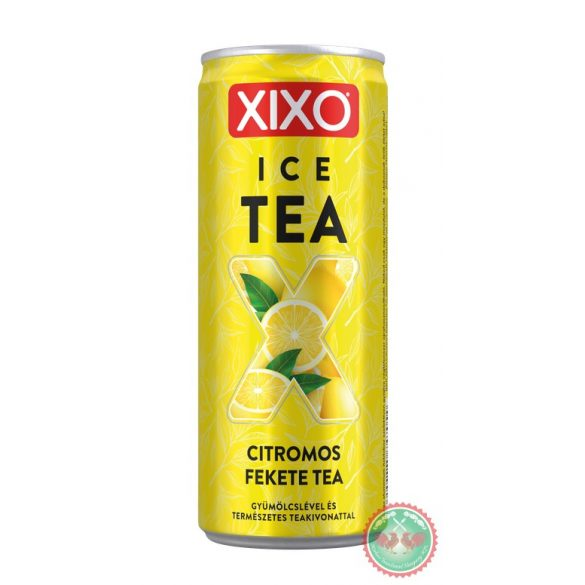 0,25 l Can XIXO Ice Tea Citrom