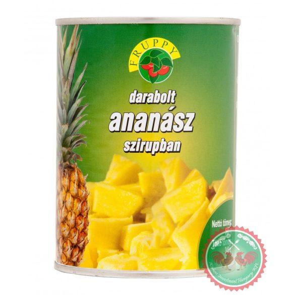 Fruppy ananász konzerv 565g