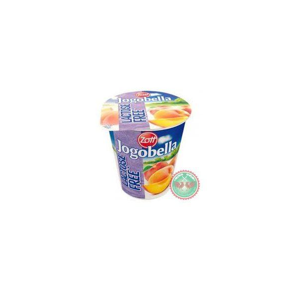 Laktózmentes Jogobella őszibarackos joghurt 150g