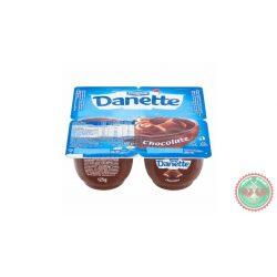 Danette csokoládés puding 4x125g