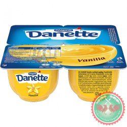 Danette vaníliás puding 4x125g