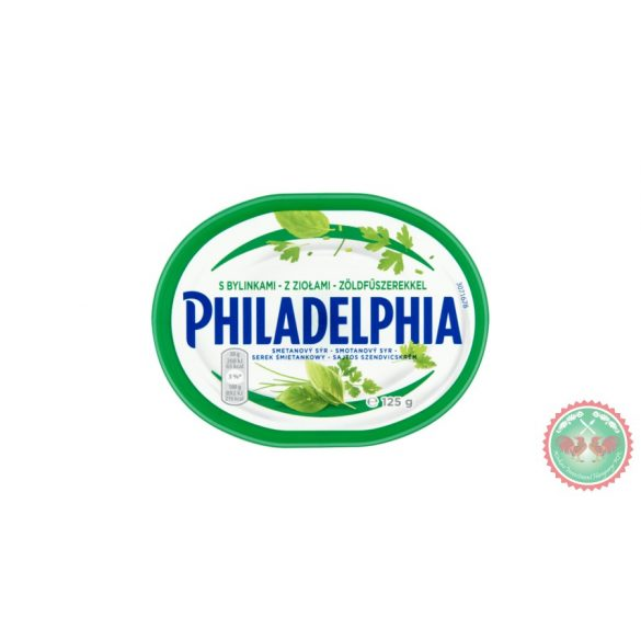 Philadelphia krémsajt zöldfűszeres 125g
